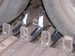 Kettenfahrzeug Ausschnitt